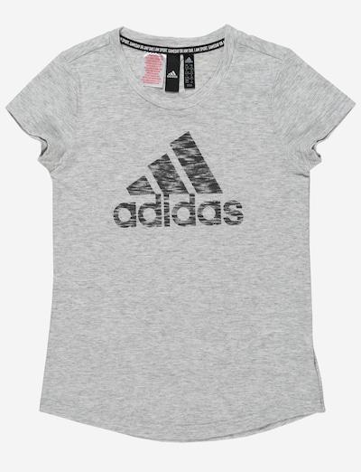 ADIDAS PERFORMANCE T-Shirt fonctionnel en blanc chiné, Vue avec produit