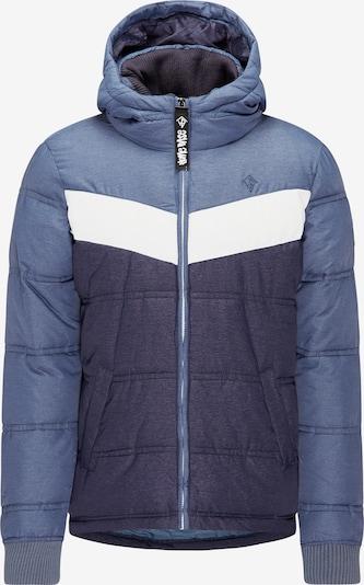 HOMEBASE Jacke in marine / hellblau / weiß, Produktansicht