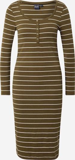 GAP Klasiska tipa kleita olīvzaļš / balts, Preces skats