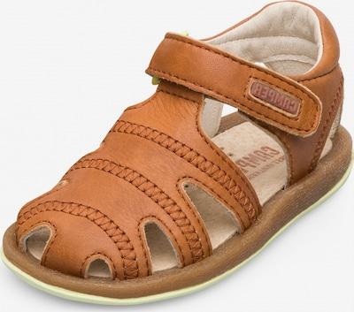 CAMPER Chaussures ouvertes ' Bicho ' en marron, Vue avec produit