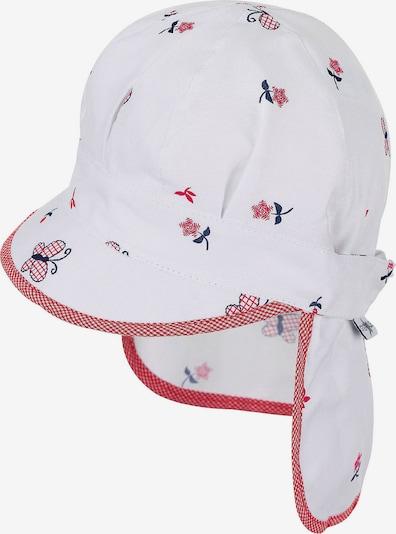 STERNTALER Schirmmütze in hellrot / weiß, Produktansicht