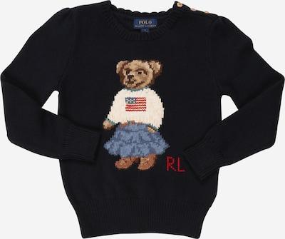 POLO RALPH LAUREN Pullover 'ICONIC BEAR' in navy / mischfarben, Produktansicht