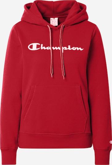 Megztinis be užsegimo iš Champion Reverse Weave , spalva - vyno raudona spalva / balta, Prekių apžvalga