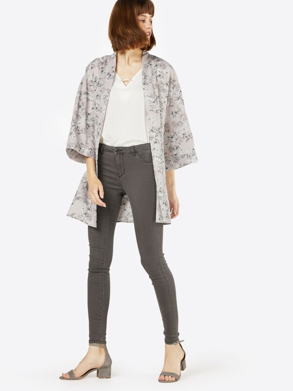JACQUELINE de YONG 'JDYSKINNY LOW ULLE GREY JEANS DNM NOOS' Skinny-Jeans