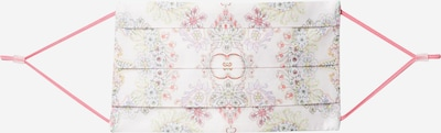 CODELLO Stoffen mondkapje 'Traditional' in de kleur Lichtgroen / Lila / Pink, Productweergave