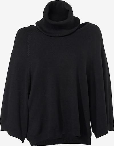 Pulover heine pe negru, Vizualizare produs