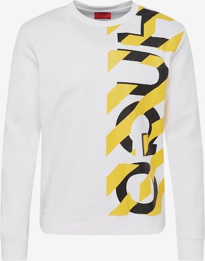 HUGO Sweat-shirt 'Dosaka' en blanc, Vue avec produit