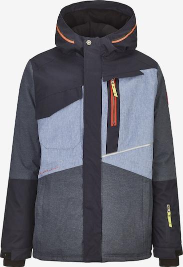KILLTEC Skijacke 'Nelson' in navy / rauchblau / taubenblau, Produktansicht