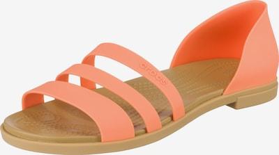 Crocs Flat W Klassische Sandalen in orange, Produktansicht