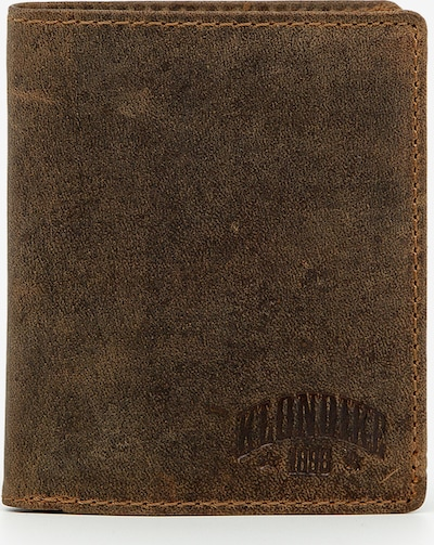 KLONDIKE 1896 Portemonnaie 'Evan' in braun, Produktansicht