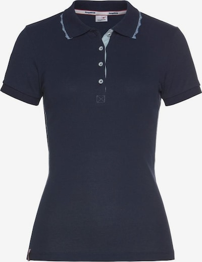 KangaROOS Poloshirt in dunkelblau, Produktansicht