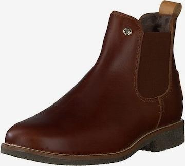 PANAMA JACK Chelsea Boots 'Giordana igloo Travelling' in Brown
