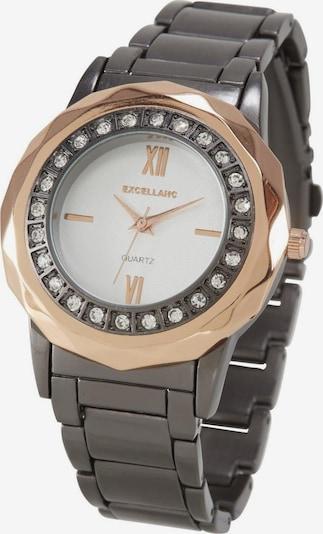 heine Armbanduhr in gold / graphit / weiß, Produktansicht