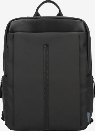 D&N Businessrucksack  'Basic Line' 43 cm in schwarz, Produktansicht