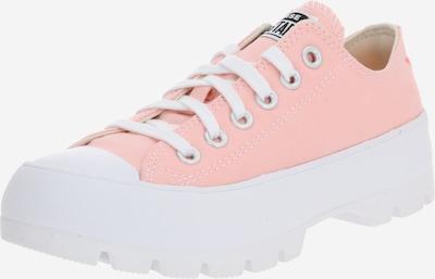 CONVERSE Zemie apavi 'CHUCK TAYLOR ALL STAR LUGGED - OX' pieejami rožkrāsas / balts, Preces skats