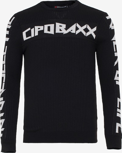 CIPO & BAXX Pullover 'River of Life' in schwarz, Produktansicht