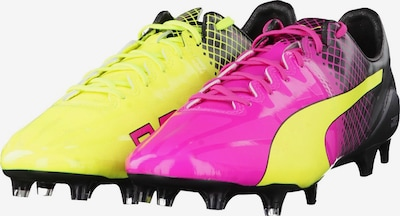 PUMA Fussballschuhe 'evoSPEED 1.5 Tricks FG' in neongelb / pink / schwarz, Produktansicht