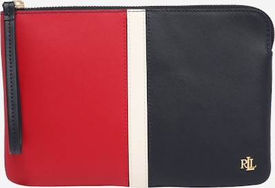 Lauren Ralph Lauren Clutch in navy / rot / offwhite, Produktansicht