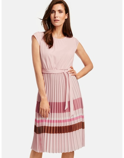GERRY WEBER Kleid in kupfer / rosa / rosé, Modelansicht