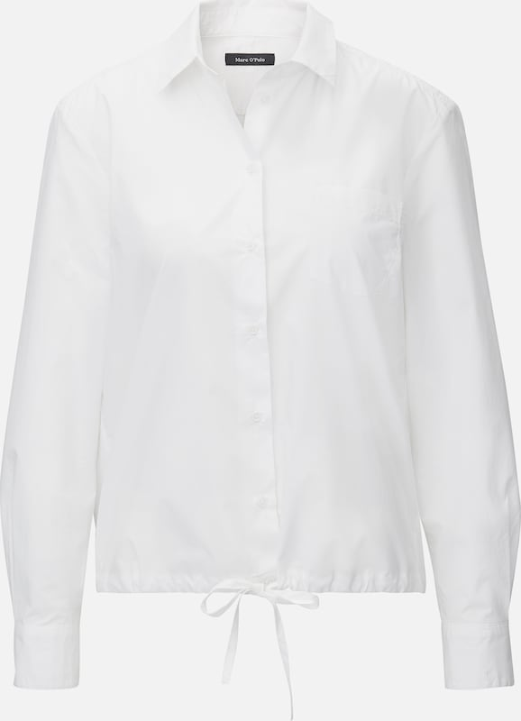 Marc O'Polo Blouse in de kleur Wit, Productweergave