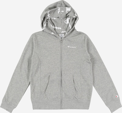Champion Authentic Athletic Apparel Sweatjacke in grau, Produktansicht