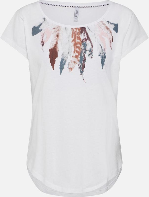 Mélange T CouleursBlanc Hailys 'elli' En Cassé shirt De 80OPXnwk