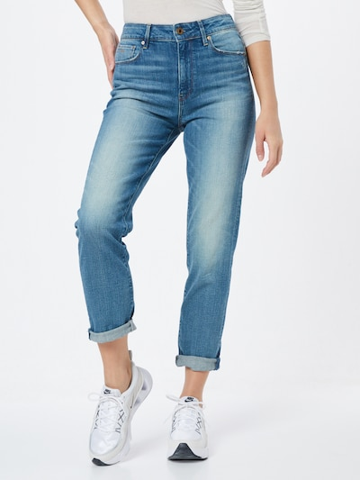 kék farmer G-Star RAW Farmer '3301 High Straight 90's Ankle Wmn', Modell nézet