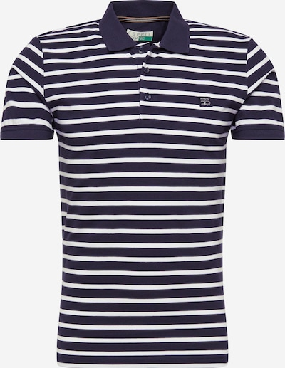 ESPRIT Poloshirt 'MLA' in navy / weiß, Produktansicht