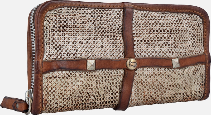 Campomaggi Traditional Geldbörse Leder 21 cm