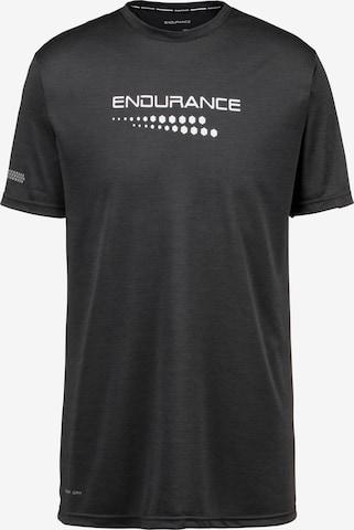 ENDURANCE T-Shirt 'Portofino' in Schwarz
