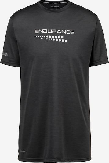 ENDURANCE T-Shirt 'Portofino' in schwarz / weiß, Produktansicht