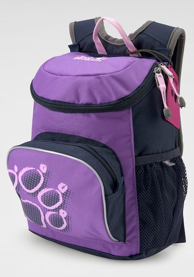 JACK WOLFSKIN Kinderrucksack 'Little Joe' in navy / lila / pink, Produktansicht