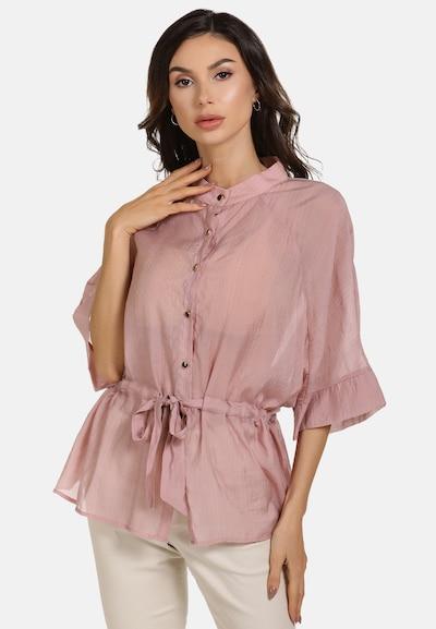 faina Bluse in pink, Modelansicht