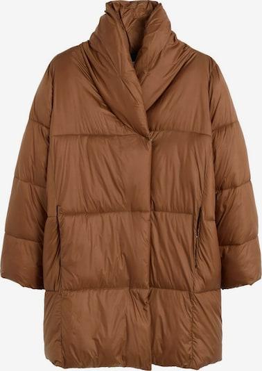 MANGO Manteau d'hiver 'Nedalong' en caramel, Vue avec produit