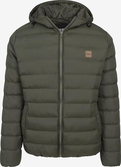 Urban Classics Jacket 'Basic Bubble' in oliv: Frontalansicht