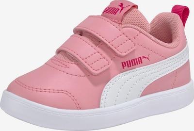 PUMA Brīvā laika apavi 'Courtflex v2 V Inf' pieejami rožkrāsas / balts, Preces skats