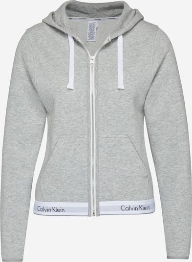 Calvin Klein Underwear Sweatjacke in graumeliert, Produktansicht