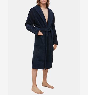 Peignoir long Calvin Klein Underwear en bleu
