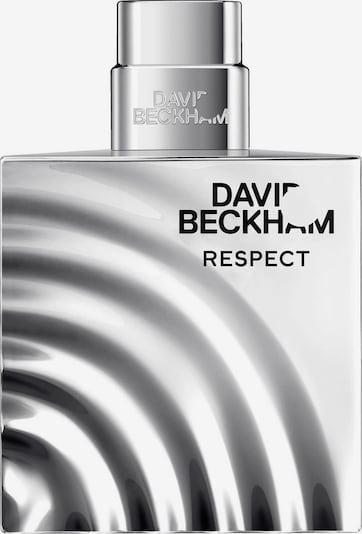David Beckham Eau de Toilette 'Respect' in schwarz / weiß, Produktansicht