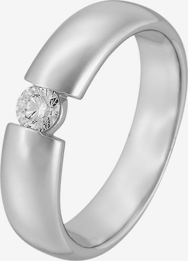 CHRIST Ring in silber: Frontalansicht