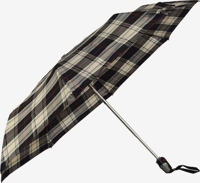 KNIRPS Parapluie en crème / anthracite / gris clair, Vue avec produit