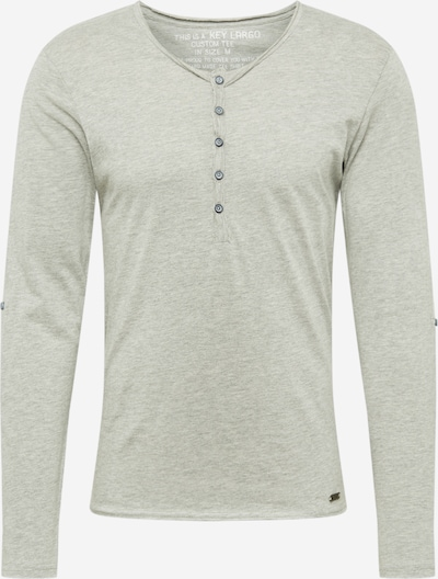 Key Largo Shirt 'MLS00038' in silbergrau, Produktansicht