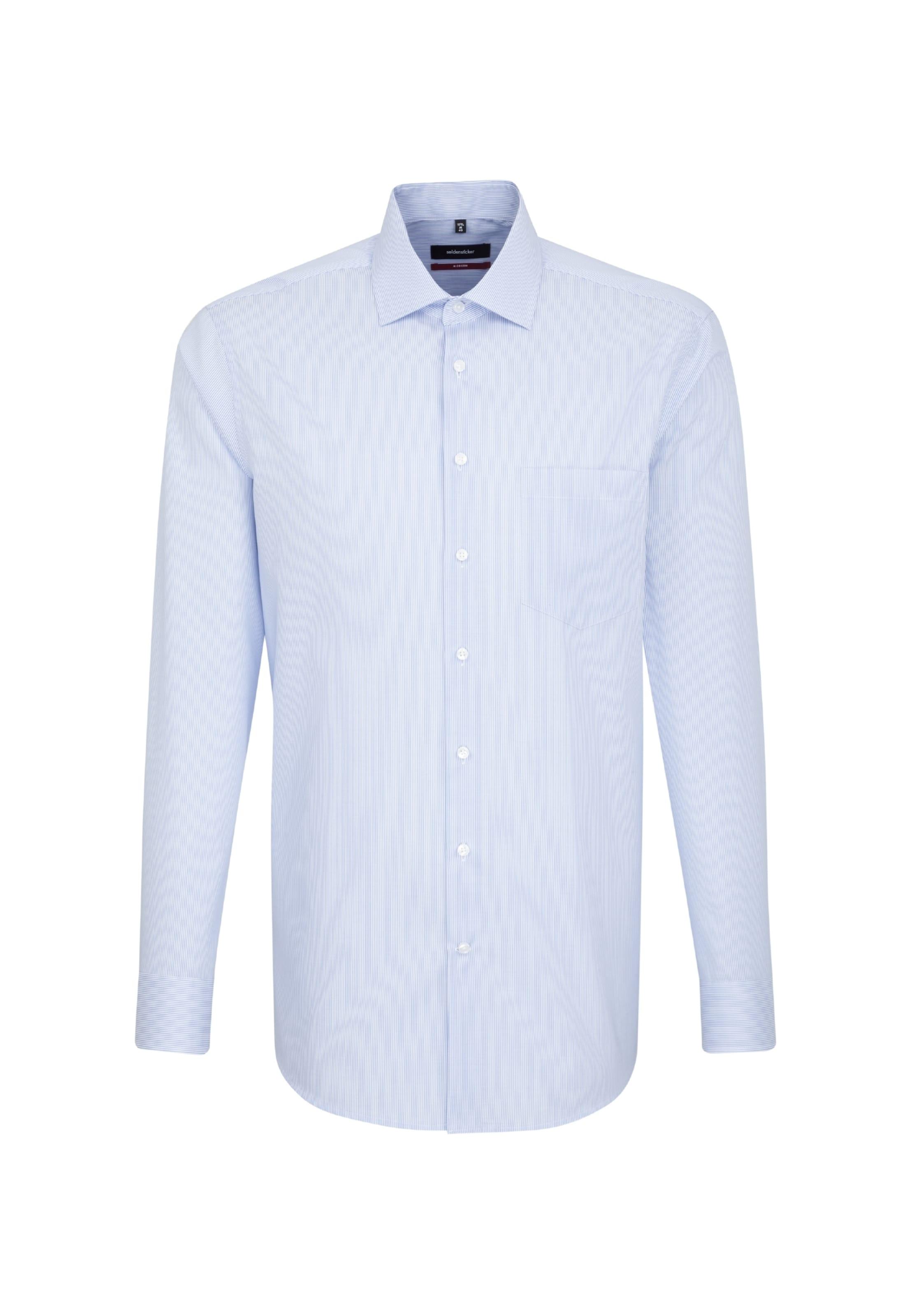 Modern In Blau Seidensticker ' Business Hemd 8wnvmN0yO