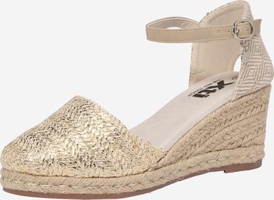 Xti Sandalen met riem in de kleur Goud, Productweergave