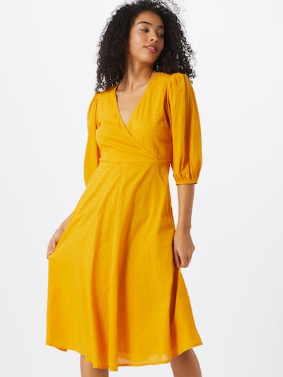 minimum Kleider 'Elmina 6626' in gelb, Modelansicht