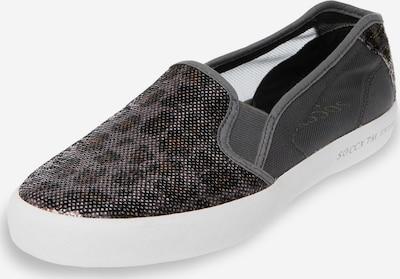 Soccx Slipper mit Mesh-Einsätzen in grau, Produktansicht