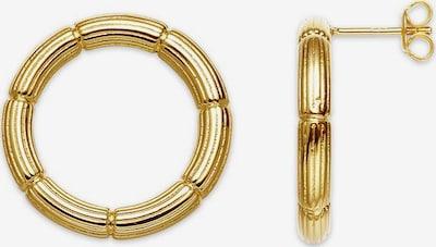 XENOX Ohrstecker 'Bamboo' in gold, Produktansicht