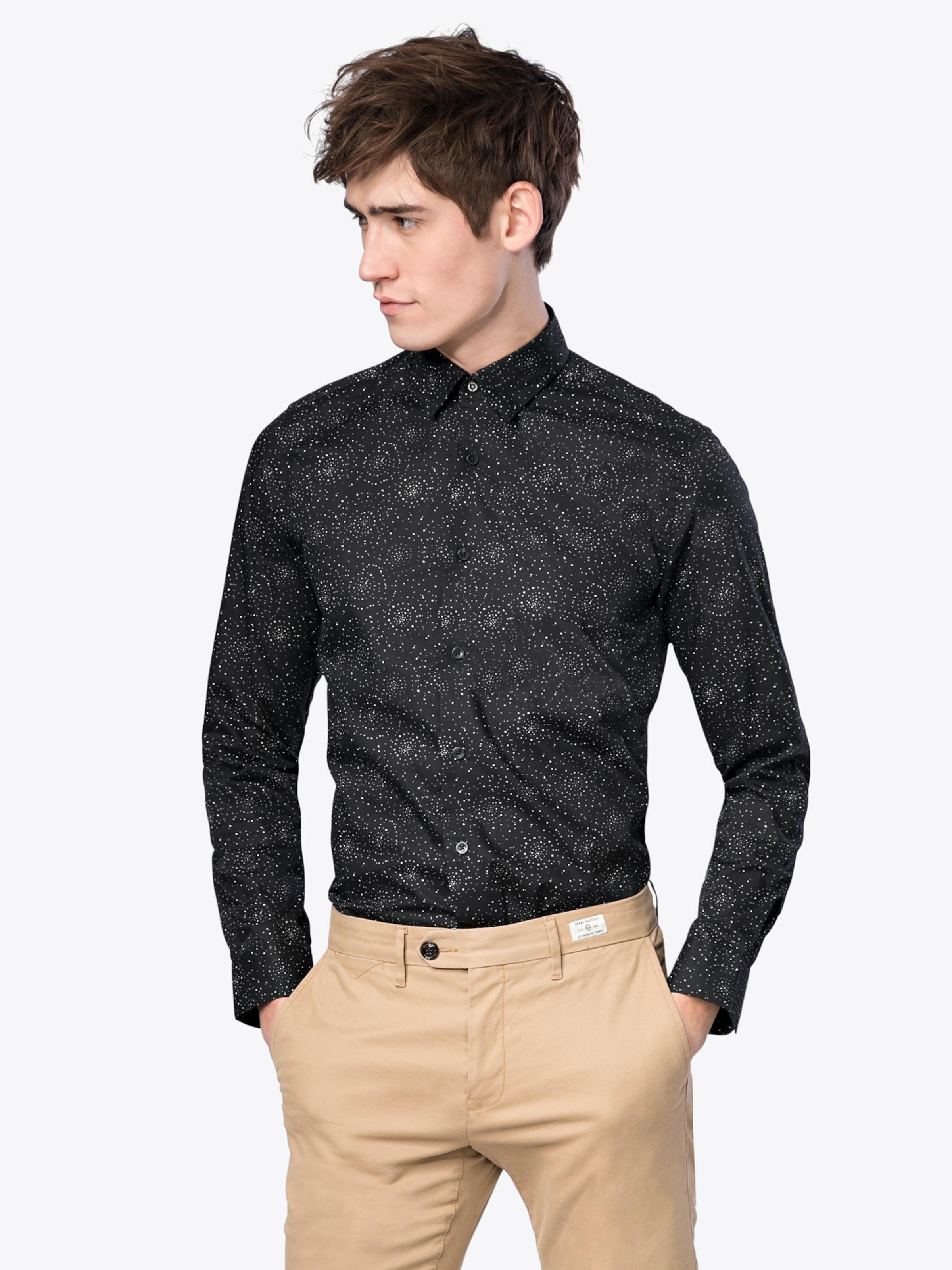Breite Palette Von Online Billig Verkauf Niedriger Preis Ben Sherman Hemd 'LS Psychedelic Pindot Shirt' Spielraum Online-Shop Sonnenschein DYyBj