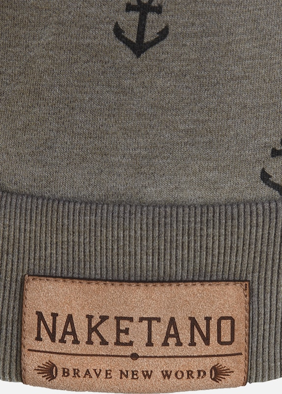 naketano Sweatshirt 'Rise Of An Enemy III'