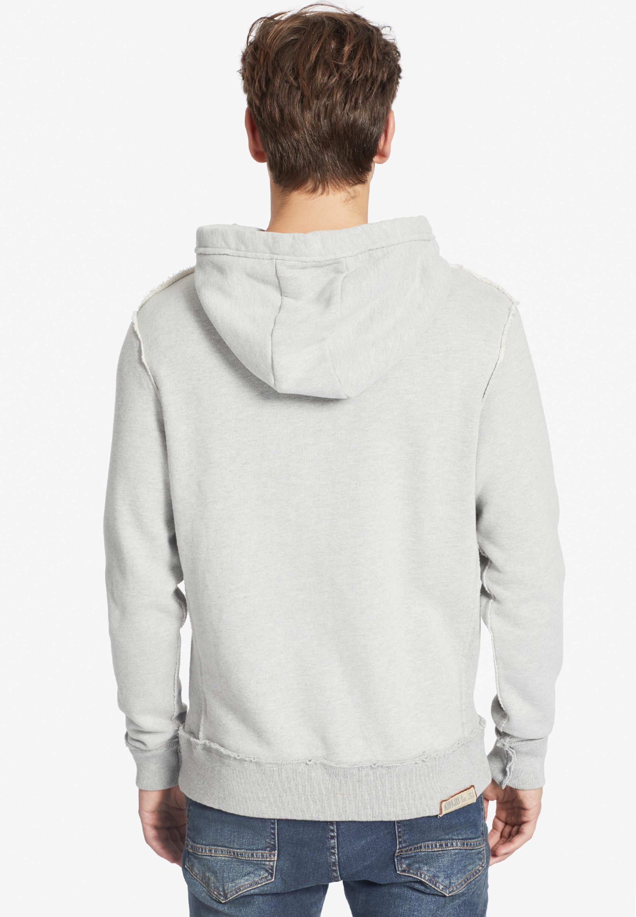 GoldgelbGrau 'simo' Khujo Weiß Sweatshirt In SzMqVpU